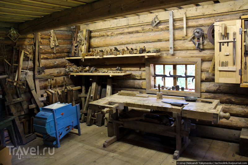 Музей крестьянского подворья и сельскохозяйственных машин в Узваре / Фото из Латвии