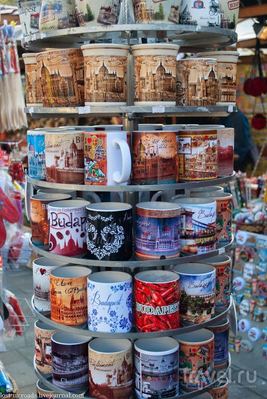Уличная торговля Будапешта / Венгрия