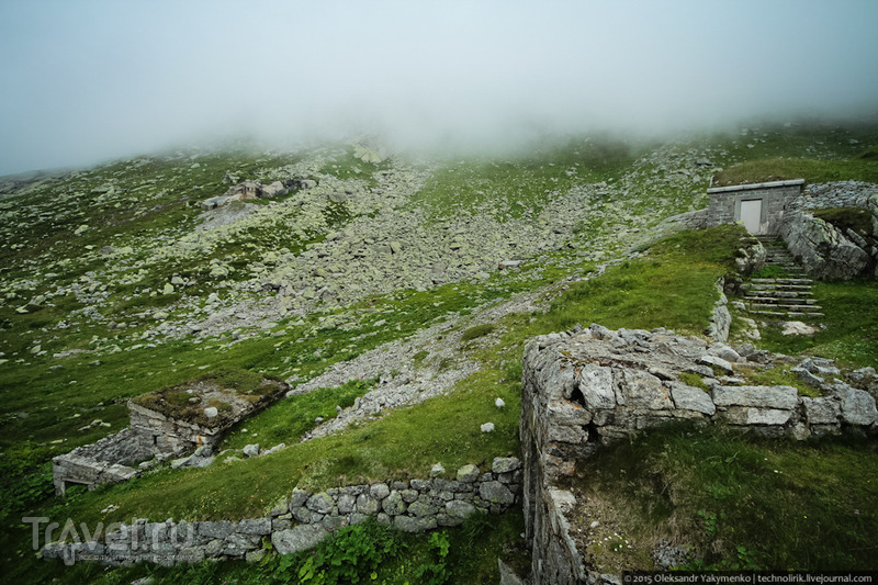 Fort Hospiz / Фото из Швейцарии