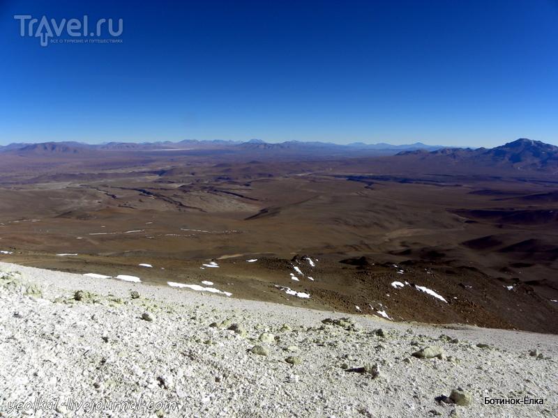Un gran viaje a America del Sur. Боливия. Выход в космос. Восхождение на вулкан Утурунку (6008 м.) / Фото из Боливии
