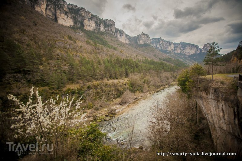 Тарнское ущелье или Горж-дю-Тарн / Франция
