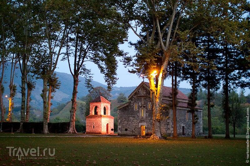 Грузия. Салхино - резиденция патриарха и монастырь / Фото из Грузии