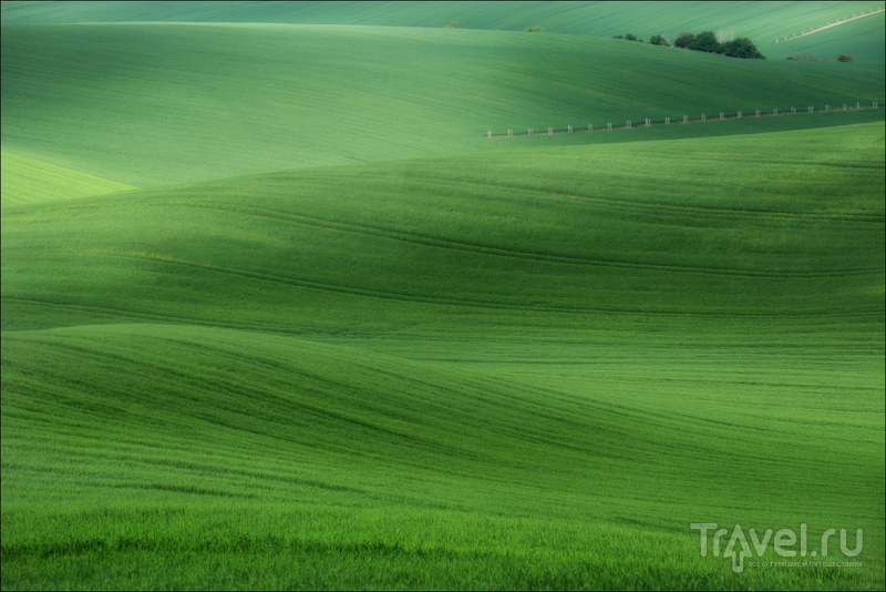 О чешской Тоскане или немножко Моравских пейзажей / Фото из Чехии