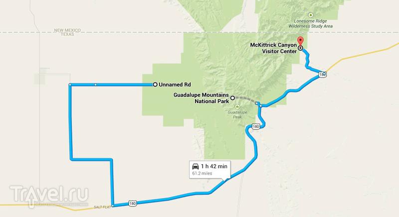 США. Национальный парк Guadalupe Mountains / Фото из США