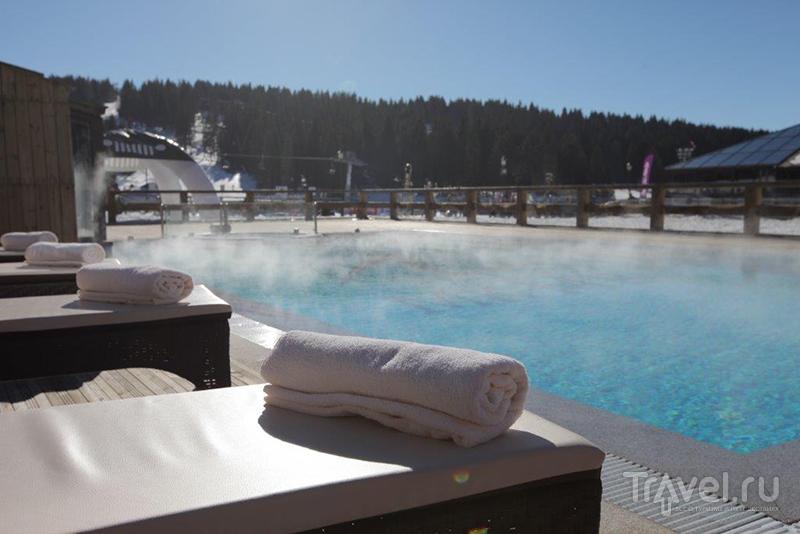 Grand Hotel & Spa, термальный бассейн под открытым небом / Фото из Сербии