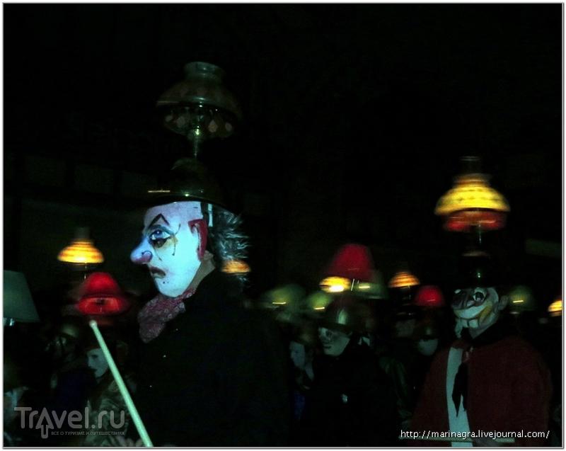 """Масленичный карнавал в Базеле: ночной парад или  """"утренняя шалость"""" / Швейцария"""