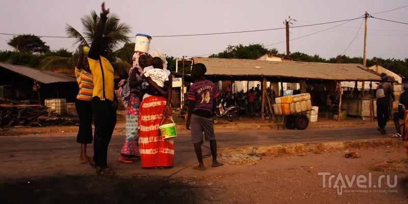 Рыбацкая деревня Cap Skirring, Атлантический океан, Сенегал / Сенегал