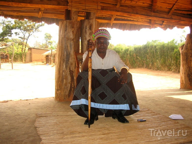 Прием у его Королевского Высочества вождя Калилеле, Замбия / Замбия
