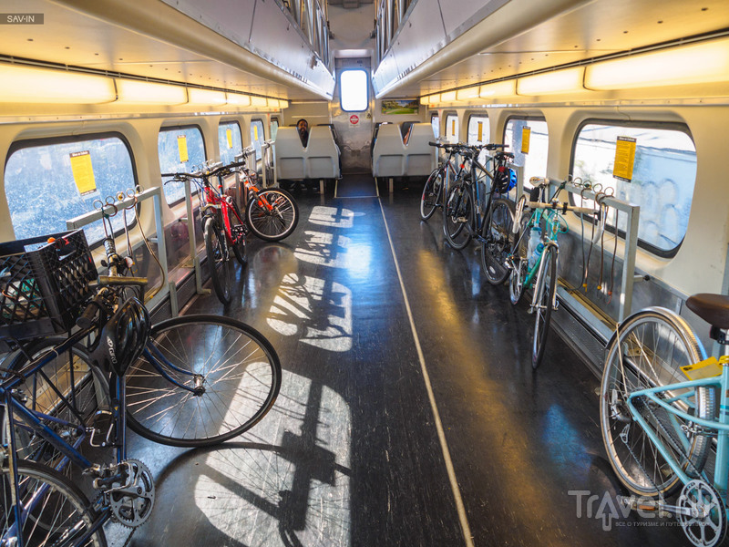 На велосипеде по пригородам Сан-Франциско / США