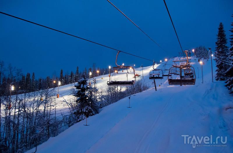 Снежные истории из Лапландии... Вуокатти (Vuokatti)... / Фото из Финляндии