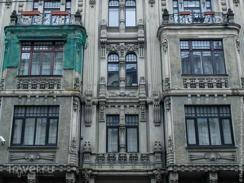 Латвия: жемчужины рижского модерна / Фото из Латвии