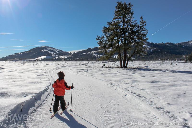 Прощай зима! Лыжи на полку до следующего сезона! / США