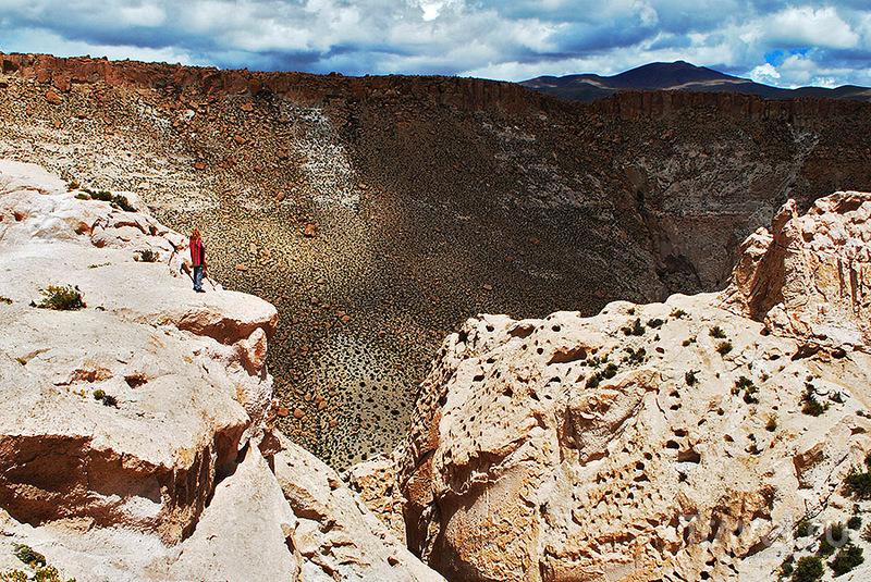Боливийское Альтиплано - другая планета / Фото из Боливии