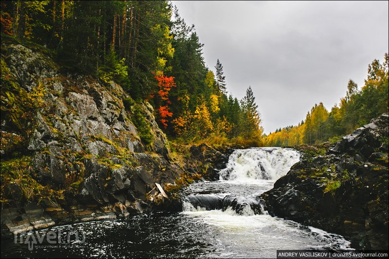 Водопад Кивач / Россия