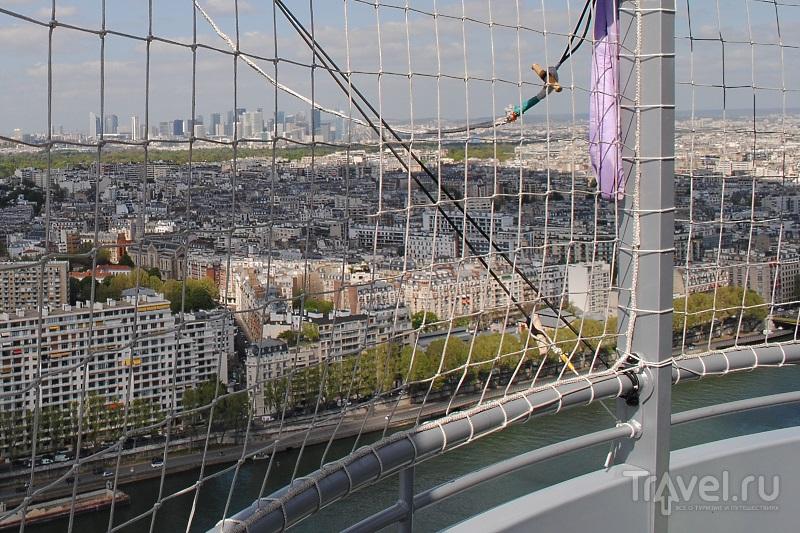 Воздушный шар. Парк Андре Ситроена (Париж) / Франция