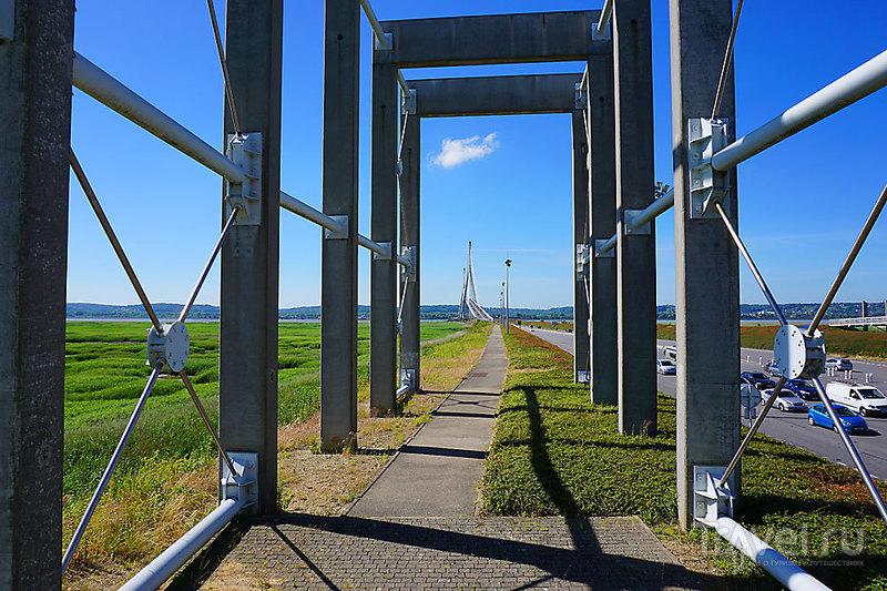 """Мост """"Нормандия"""" / Франция"""