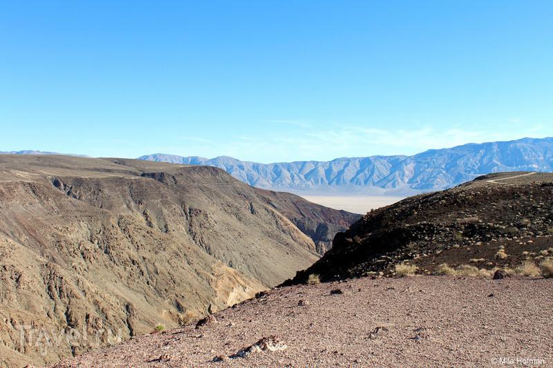 Death Valley: То вниз, то вверх / Фото из США