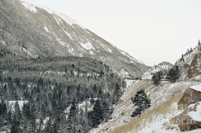 Раннее утро где-то в Колорадо / США
