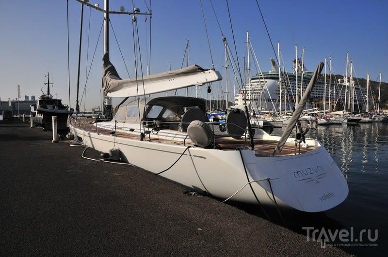 Поход Майорка - Тенерифе на парусном катамаране. Средиземное море / Великобритания