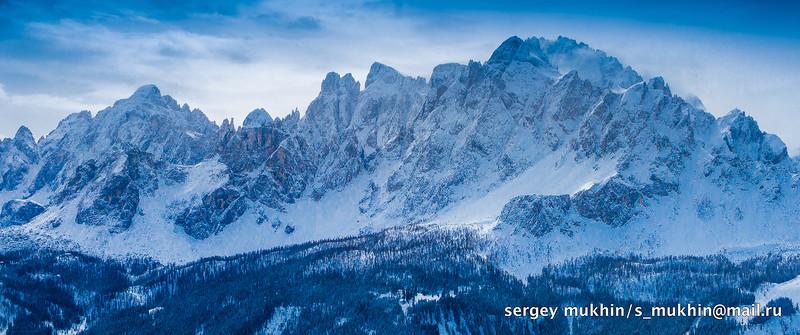Южный Тироль. Сесто. Альта Пустериа / Фото из Италии