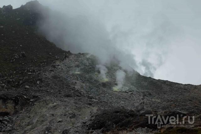 Вулкан Сибаяк. Спящий монстр. Индонезия, Суматра / Индонезия