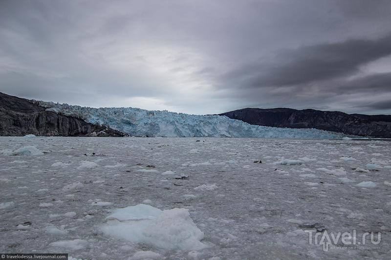 Ледник Эки в западной Гренландии / Фото из Гренландии