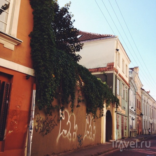 Прогулка по осеннему Вильнюсу / Литва