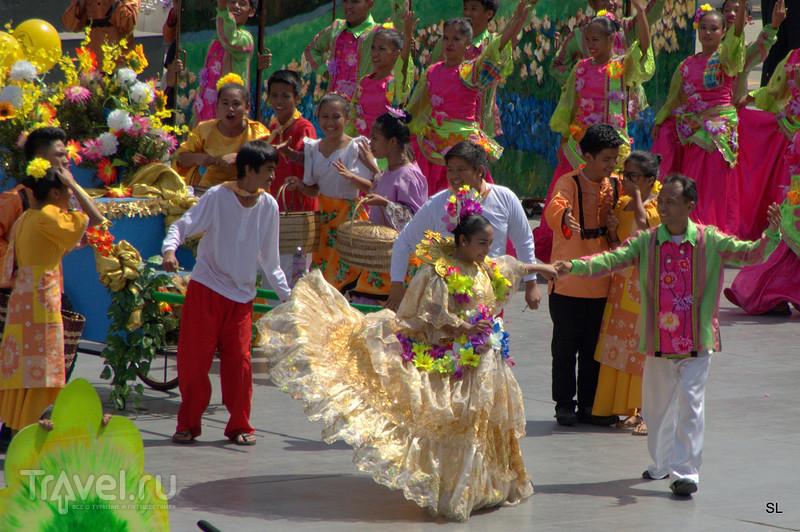 Себу сити - фестиваль Sinulog / Филиппины