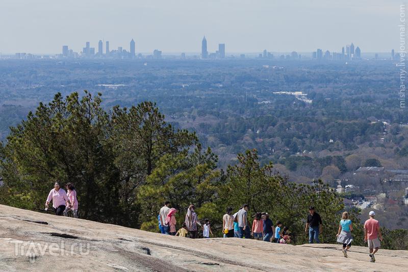 США. Парк Stone Mountain / Фото из США