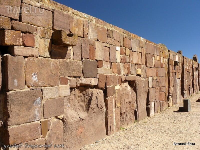 Un gran viaje a América del Sur. Боливия. Путешествие во времени - Тиуанако / Фото из Боливии