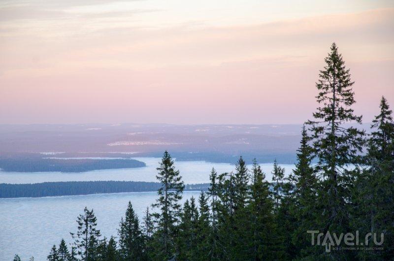 Закат в Коли / Фото из Финляндии