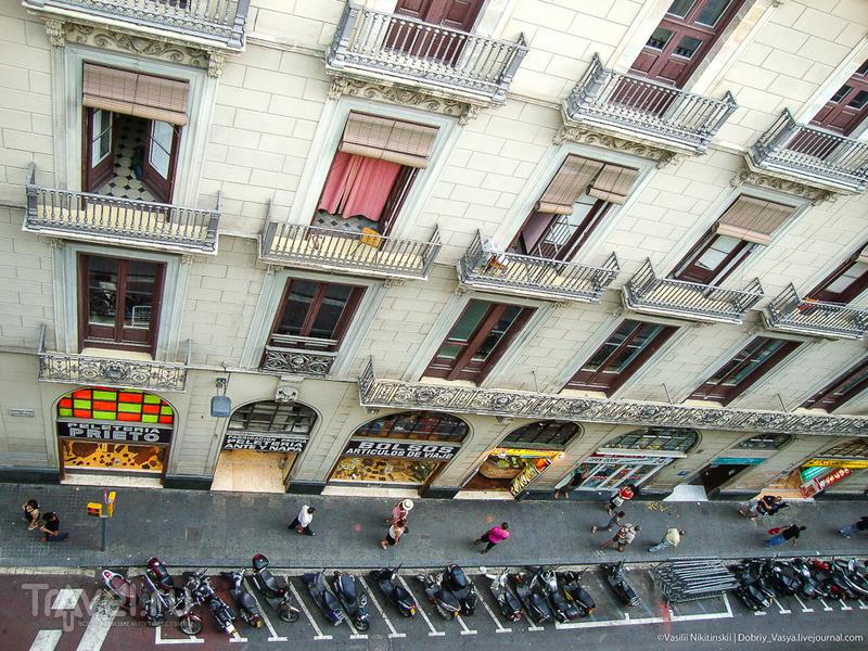 Арбат в Барселоне / Испания