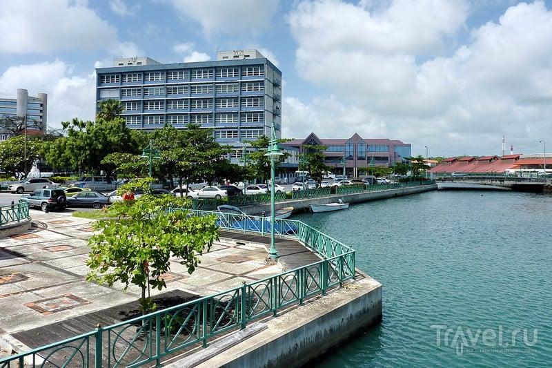 Бриджтаун - столица Барбадоса / Фото с Барбадоса