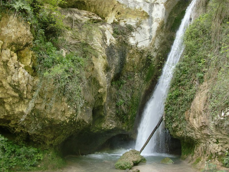 Парк водопадов в Италии / Италия