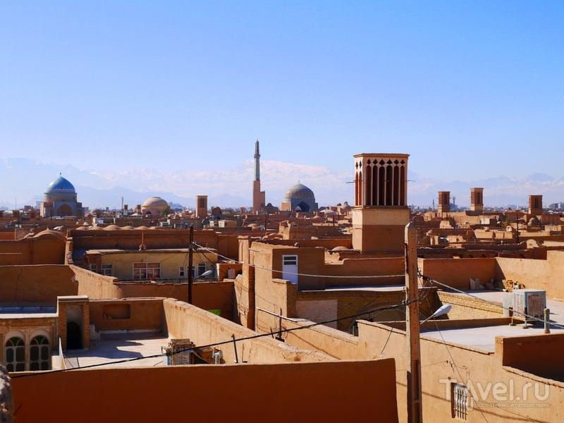 Иранский город Язд / Иран