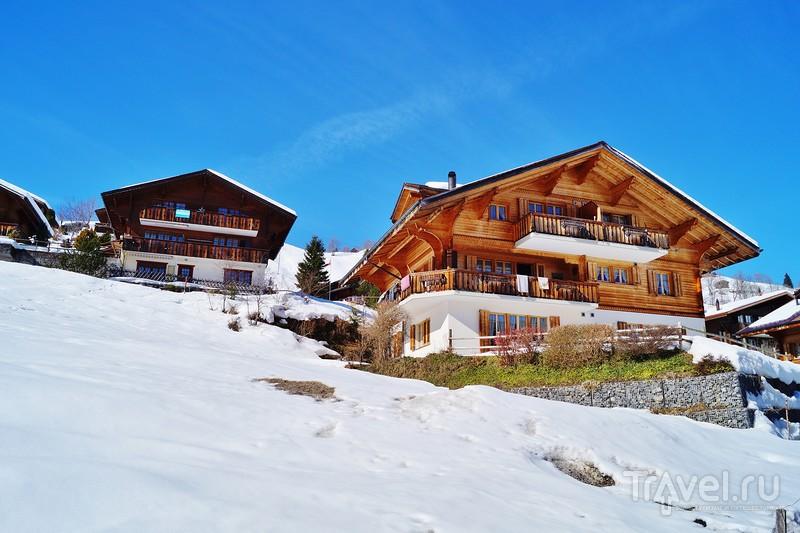 """Хабкерн - в горах, """"где много ястребов""""... / Фото из Швейцарии"""