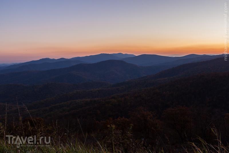 США. Национальный парк Shenandoah / Фото из США