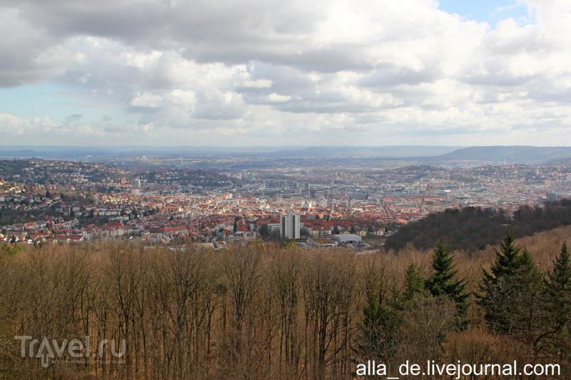 Stuttgart и его окрестности. Холм Birkenkopf / Германия