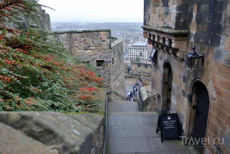 Эдинбургский замок / Великобритания