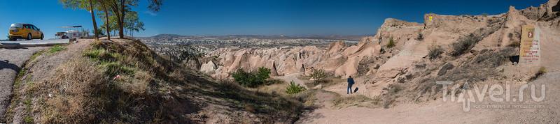 Каппадокия: холм Актепе и Розовая долина / Фото из Турции
