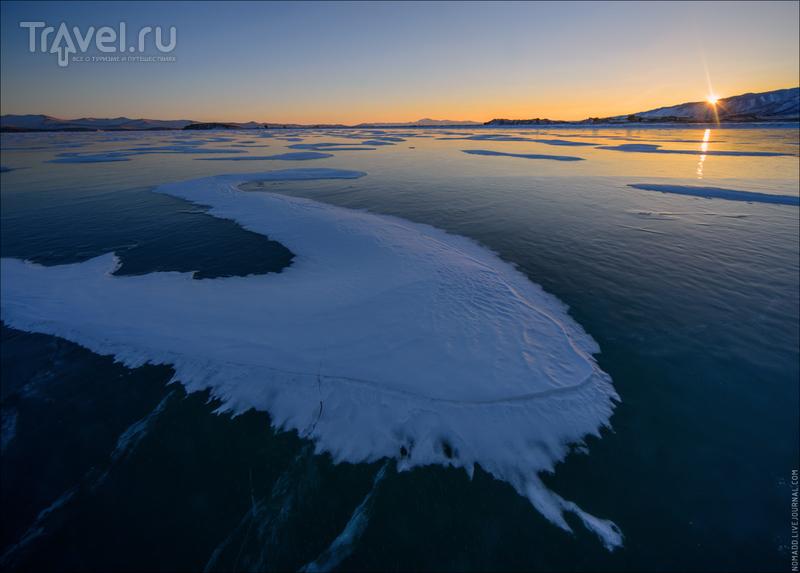 И снова ледяной Байкал: путешествие по Малому морю / Фото из России