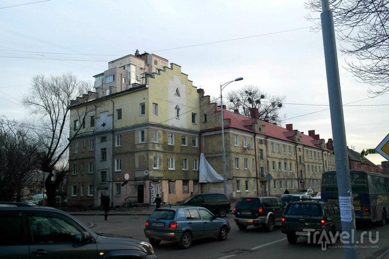 Калининград - Литовский вал и Московский проспект / Россия
