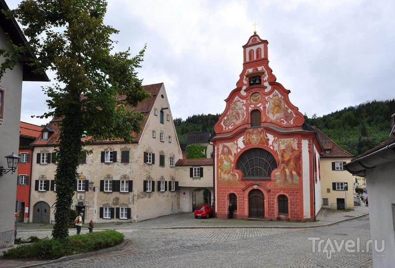 Баварская пастораль. Фюссен, Обераммергау / Фото из Германии