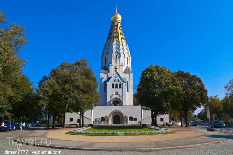 Свято-Алексеевский храм-памятник русской славы в Лейпциге / Германия