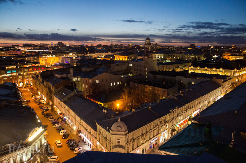 Смотровая площадка Центрального Детского Мира / Россия