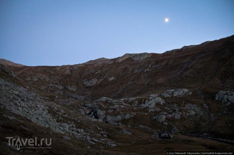Ночь в горах / Фото из Швейцарии