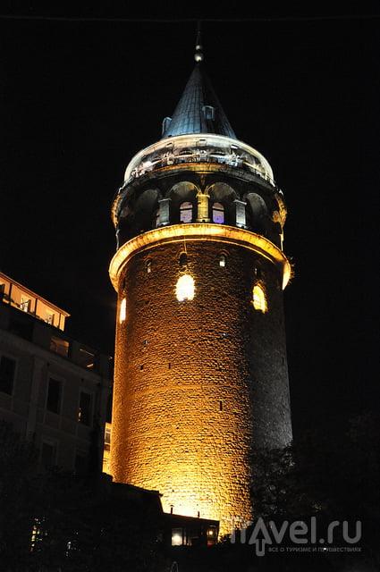 С высоты Галатской башни / Турция