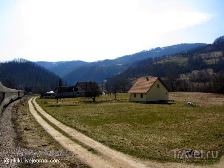 На поезде из Сербии в Черногорию / Сербия