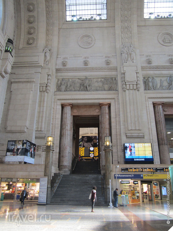 Милан. Центральный вокзал / Италия