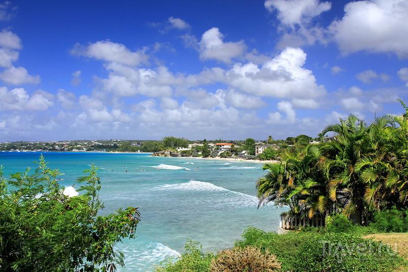 Барбадос: серферский пляж Frieghts Beach / Барбадос